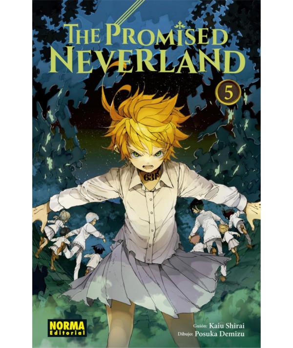 THE PROMISED NEVERLAND 5 Comic y Manga