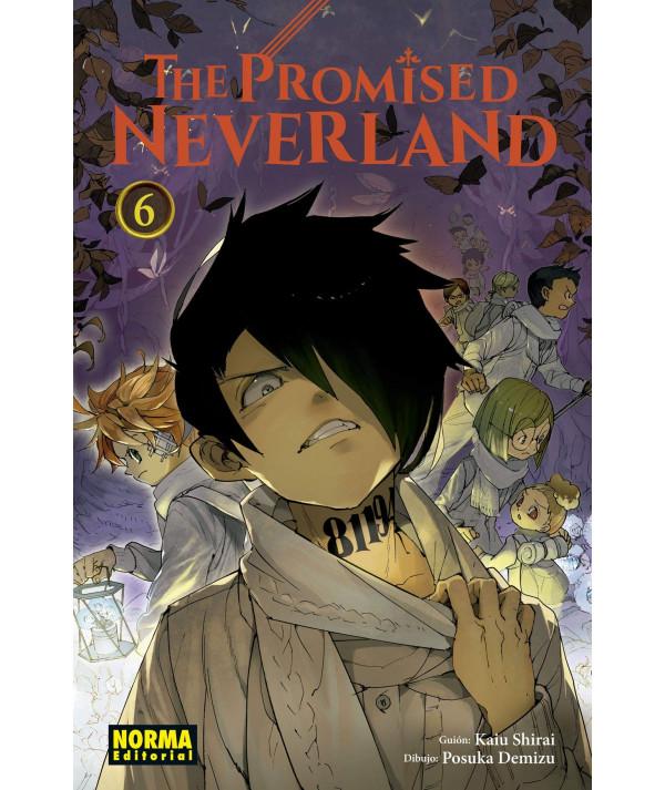 THE PROMISED NEVERLAND 6 Comic y Manga