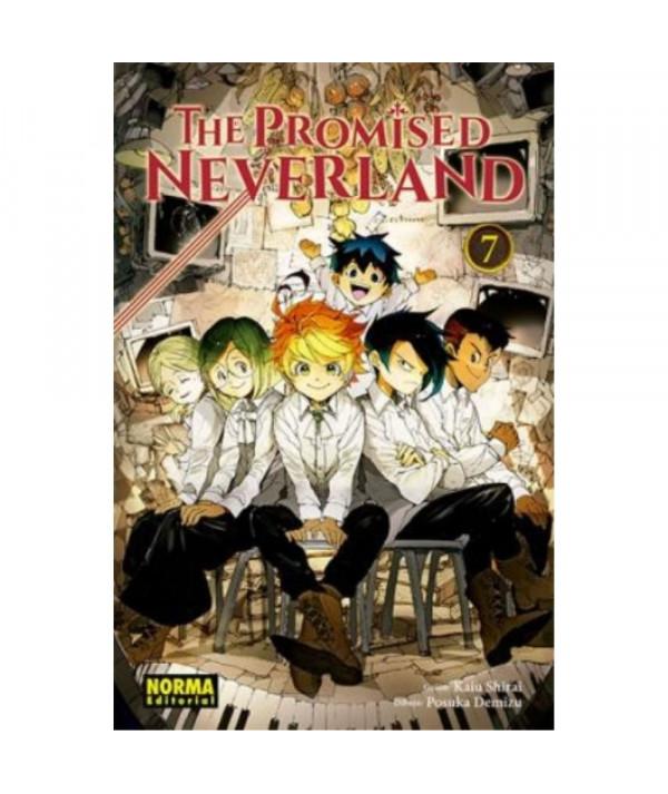 THE PROMISED NEVERLAND 7 Comic y Manga