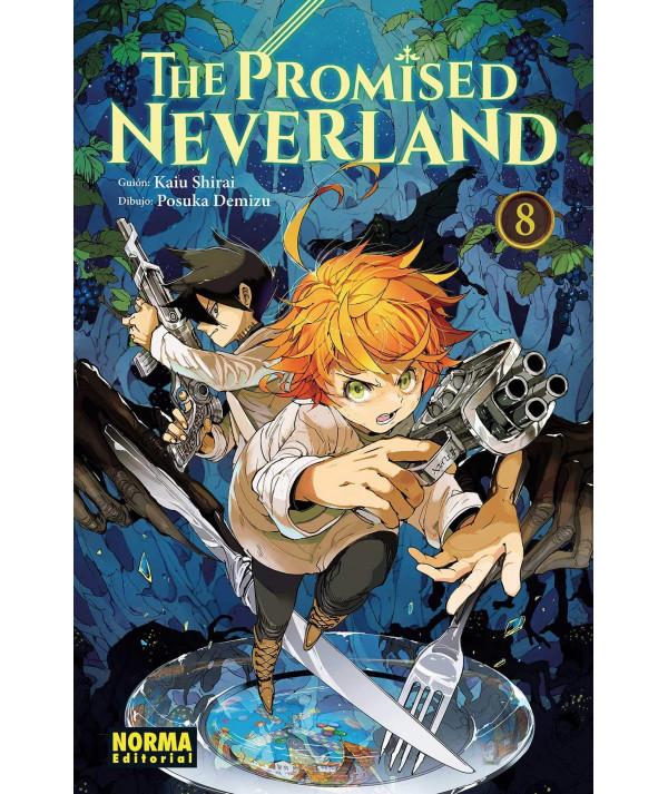 THE PROMISED NEVERLAND 8 Comic y Manga