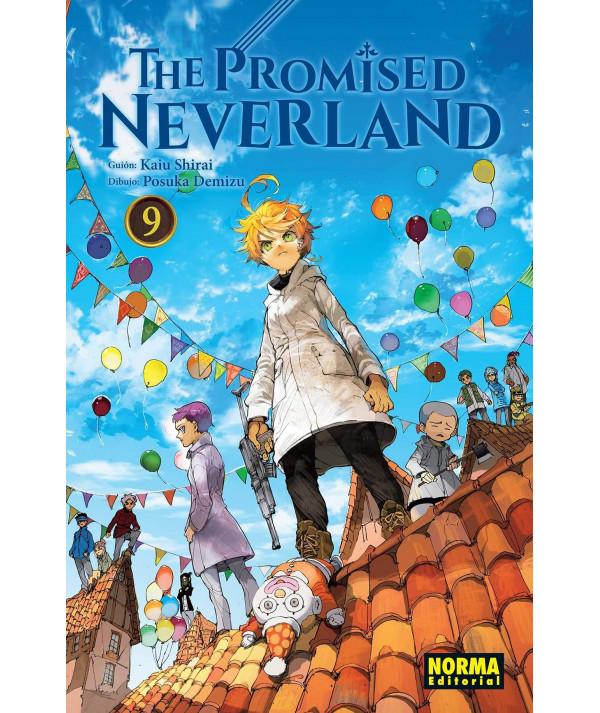 THE PROMISED NEVERLAND 9 Comic y Manga