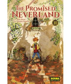 THE PROMISED NEVERLAND 10 Comic y Manga
