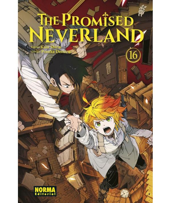 THE PROMISED NEVERLAND 16 Comic y Manga