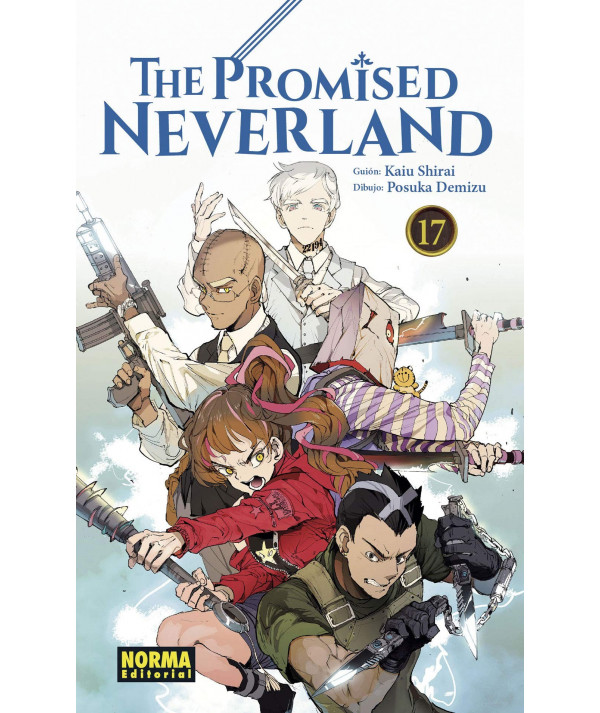 THE PROMISED NEVERLAND 17 Comic y Manga