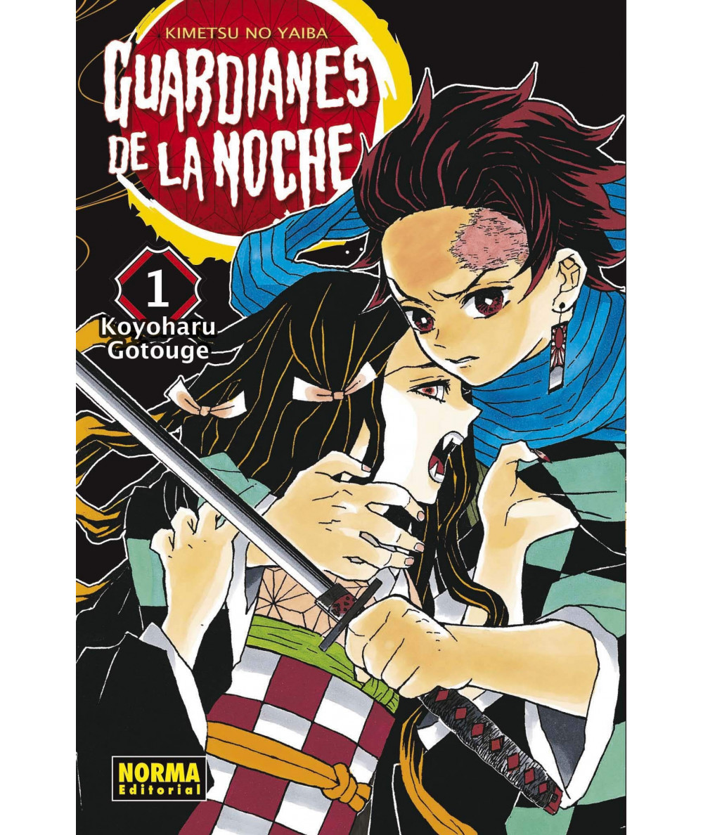 GUARDIANES DE LA NOCHE 1 Comic y Manga