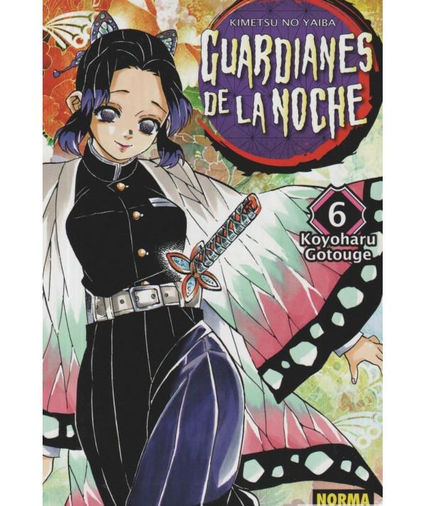 GUARDIANES DE LA NOCHE 6 Comic y Manga