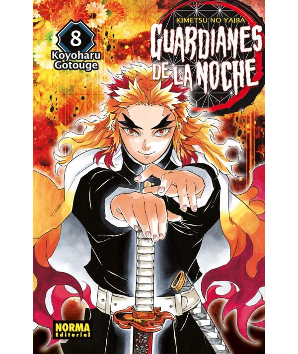GUARDIANES DE LA NOCHE 8 Comic y Manga