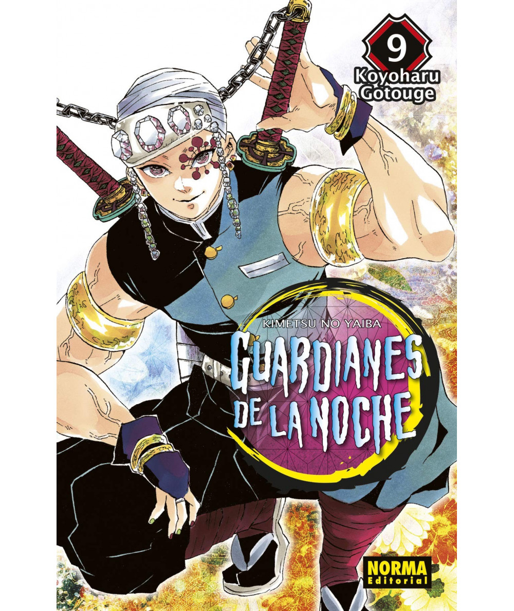 GUARDIANES DE LA NOCHE 9 Comic y Manga