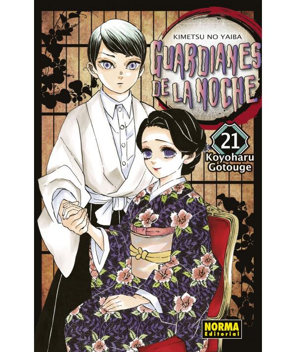GUARDIANES DE LA NOCHE 21 Comic y Manga