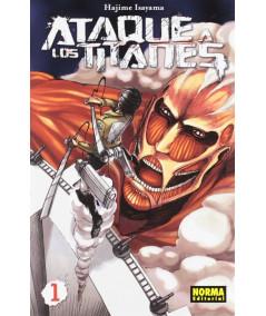 ATAQUE A LOS TITANES 1 Comic y Manga