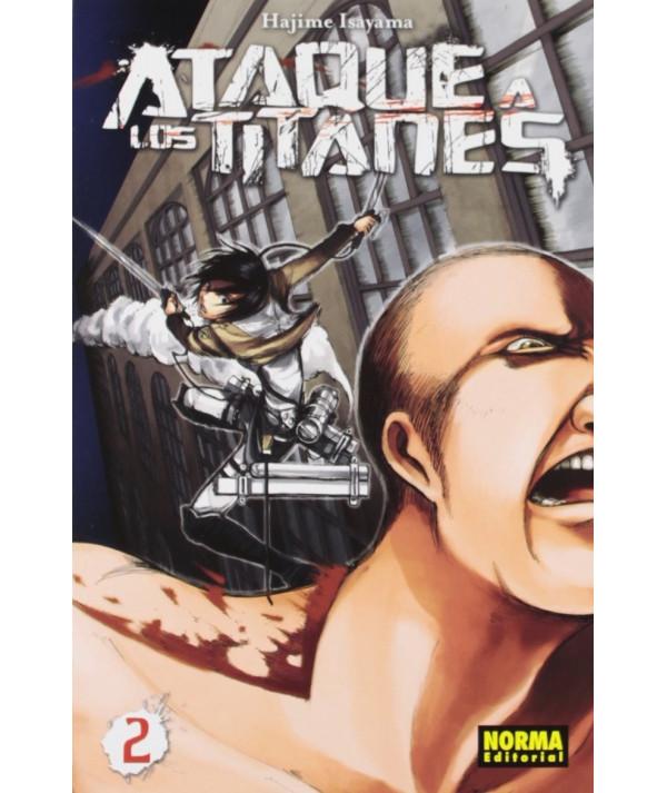 ATAQUE A LOS TITANES 2 Comic y Manga