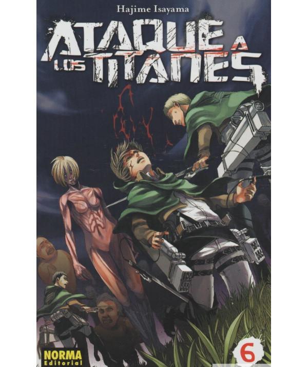 ATAQUE A LOS TITANES 6 Comic y Manga