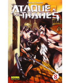 ATAQUE A LOS TITANES 8 Comic y Manga