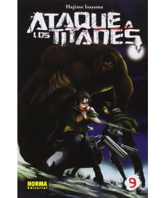 ATAQUE A LOS TITANES 9 Comic y Manga