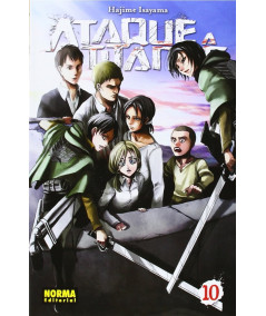 ATAQUE A LOS TITANES 10 Comic y Manga