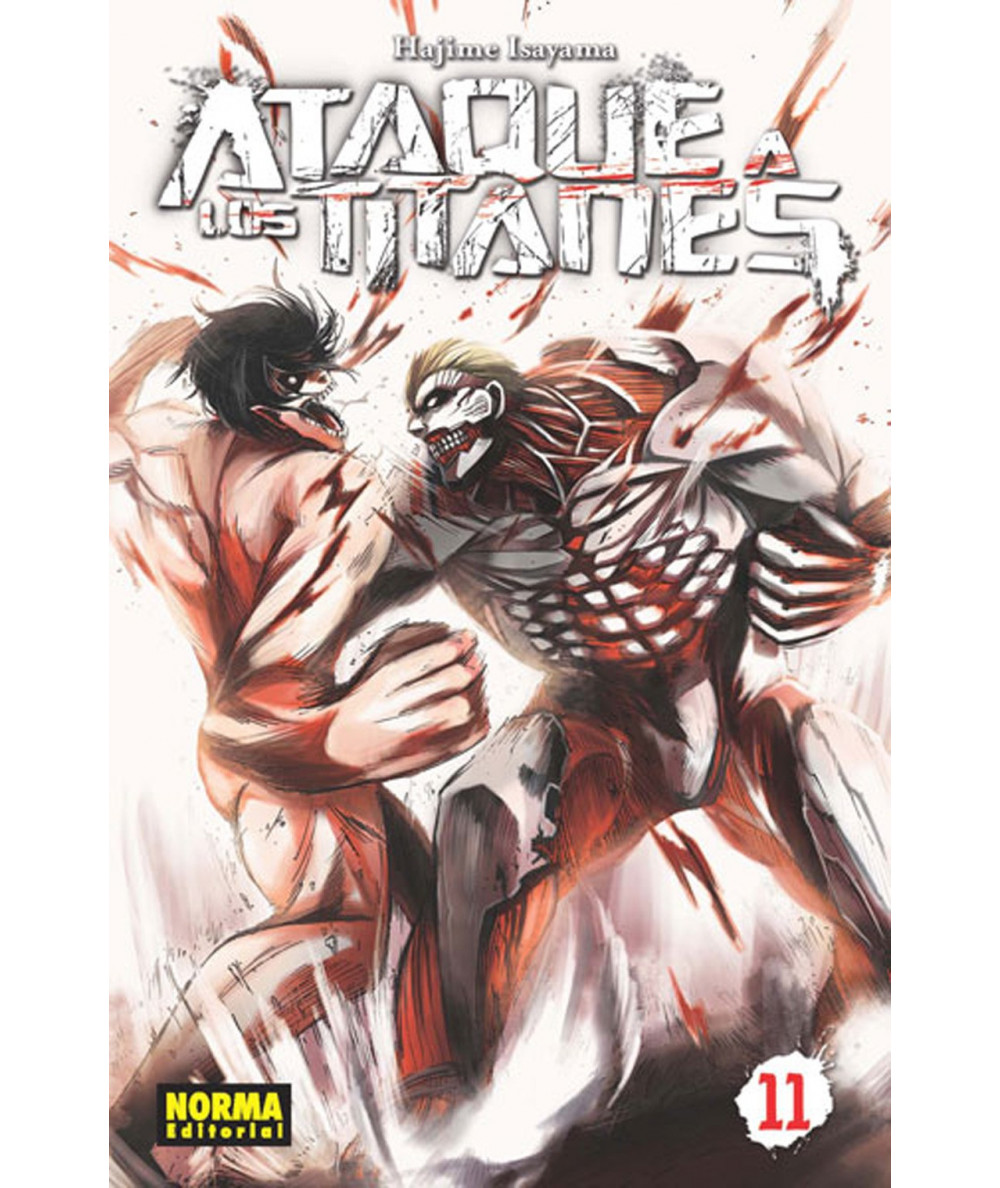 ATAQUE A LOS TITANES 11 Comic y Manga