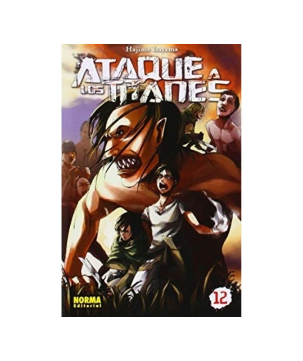 ATAQUE A LOS TITANES 12 Comic y Manga