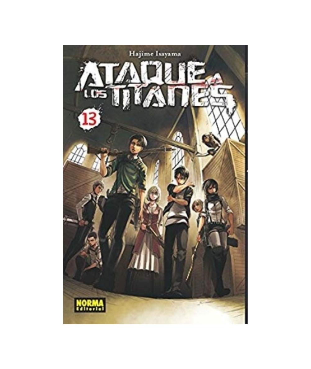 ATAQUE A LOS TITANES 13 Comic y Manga