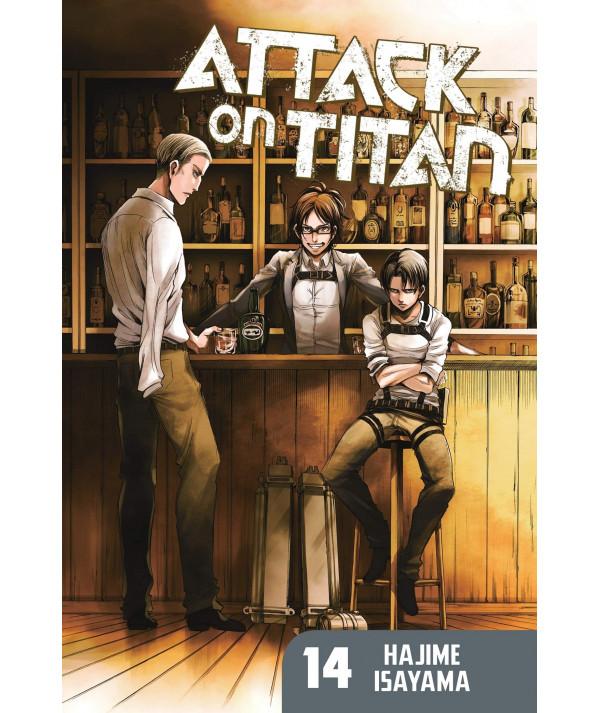 ATAQUE A LOS TITANES 14 Comic y Manga