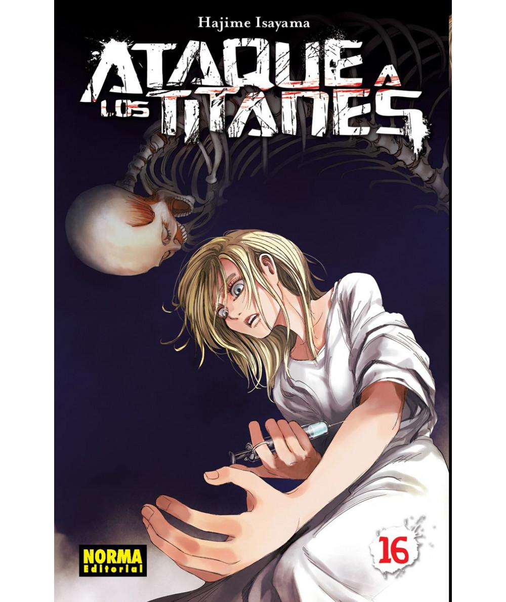 ATAQUE A LOS TITANES 16 Comic y Manga
