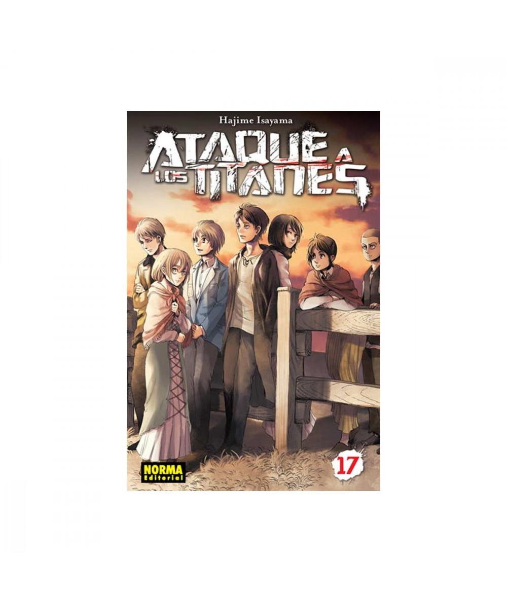 ATAQUE A LOS TITANES 17 Comic y Manga