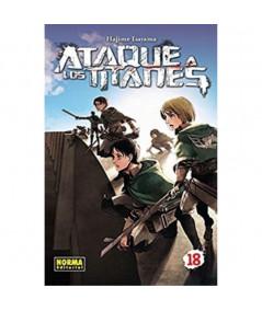 ATAQUE A LOS TITANES 18 Comic y Manga
