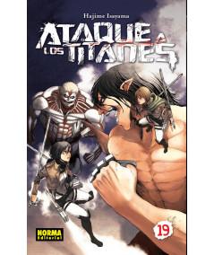 ATAQUE A LOS TITANES 19 Comic y Manga