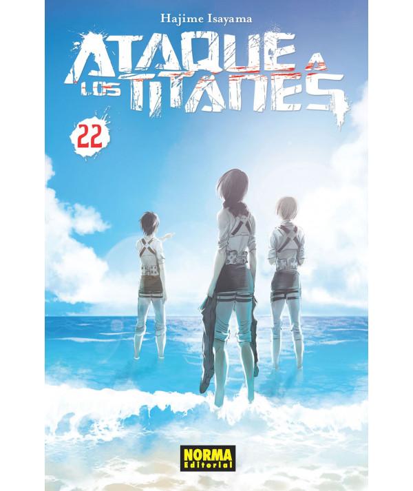 ATAQUE A LOS TITANES 22 Comic y Manga