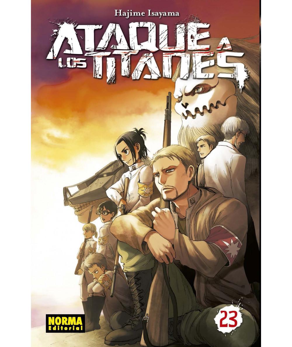 ATAQUE A LOS TITANES 23 Comic y Manga