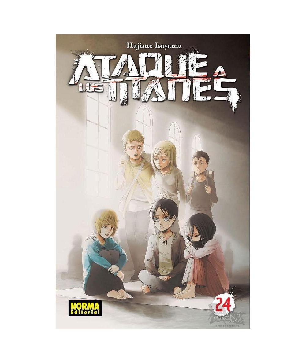 ATAQUE A LOS TITANES 24 Comic y Manga