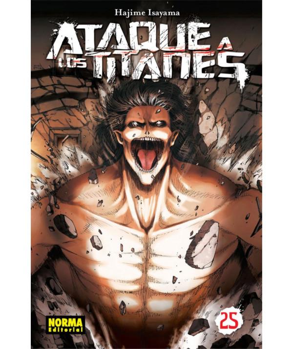 ATAQUE A LOS TITANES 25 Comic y Manga