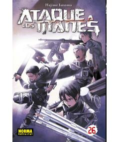 ATAQUE A LOS TITANES 26 Comic y Manga