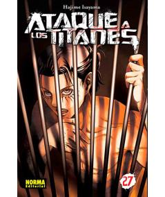 ATAQUE A LOS TITANES 27 Comic y Manga