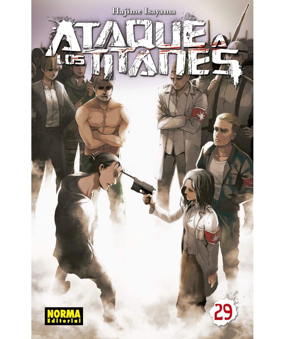ATAQUE A LOS TITANES 29 Comic y Manga