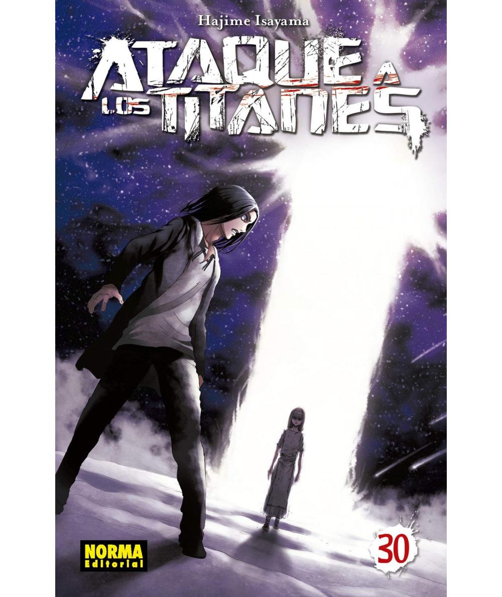 ATAQUE A LOS TITANES 30 Comic y Manga