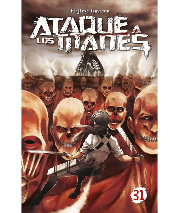 ATAQUE A LOS TITANES 31 Comic y Manga