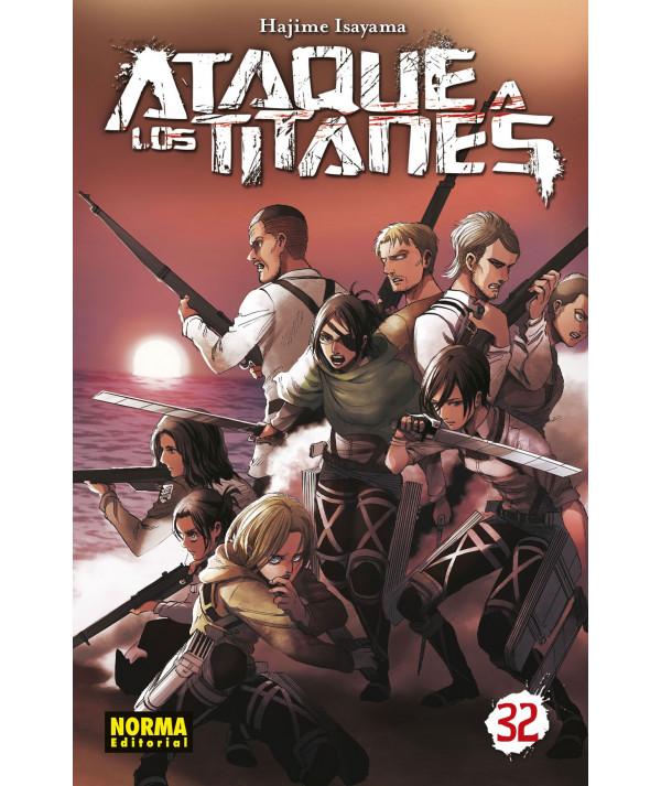 ATAQUE A LOS TITANES 32 Comic y Manga