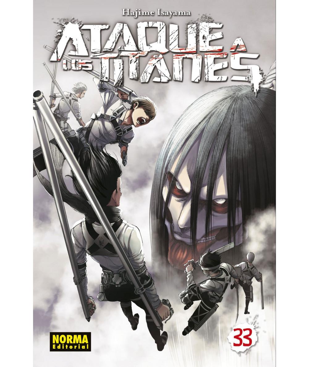 ATAQUE A LOS TITANES 33 Comic y Manga