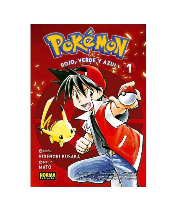 POKEMON. ROJO, VERDE Y AZUL 1 Comic y Manga