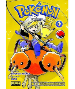 POKEMON. AMARILLO 1 Comic y Manga