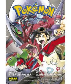 POKEMON. ORO HEARTGOLD Y PLATA SOULSILVER 02 Comic y Manga