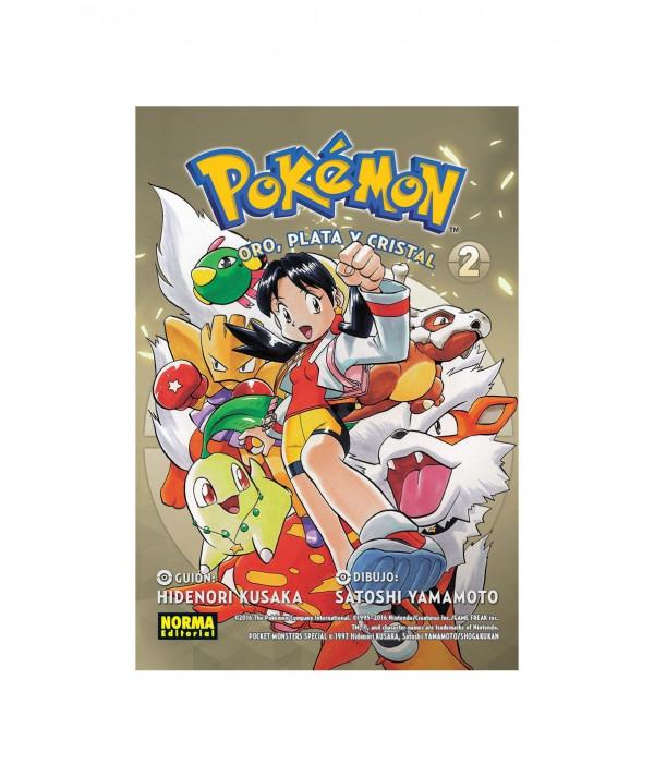 POKEMON. ORO, PLATA Y CRISTAL 2 Comic y Manga