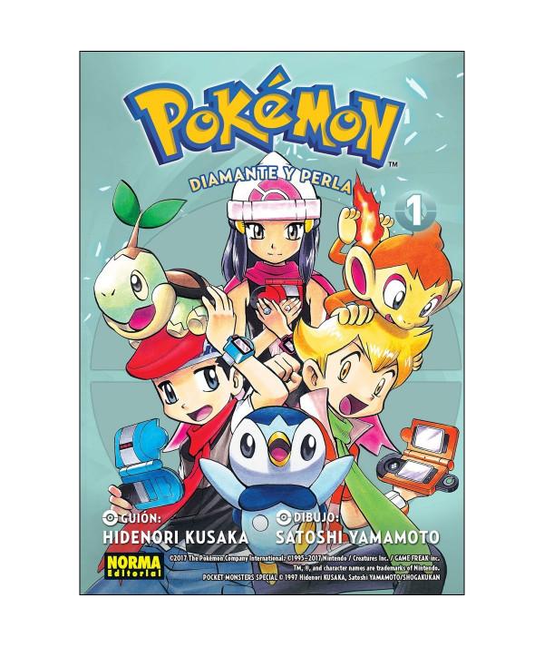 POKEMON. DIAMANTE Y PERLA 1 Comic y Manga