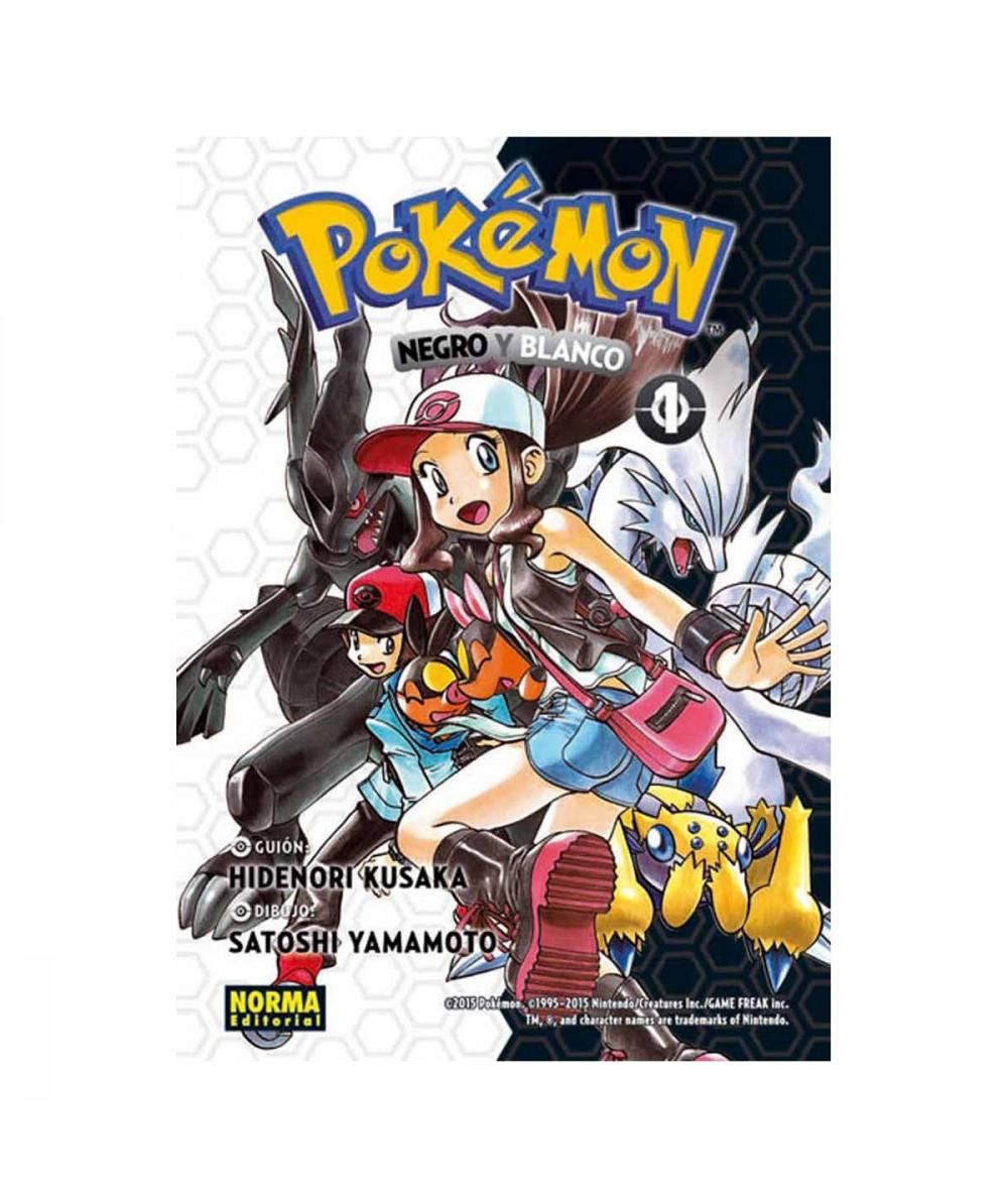 POKEMON. NEGRO Y BLANCO 1 Comic y Manga