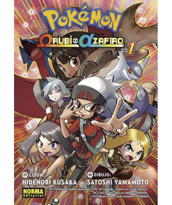 POKEMON. OMEGA RUBI ALFA ZAFIRO 1 Comic y Manga