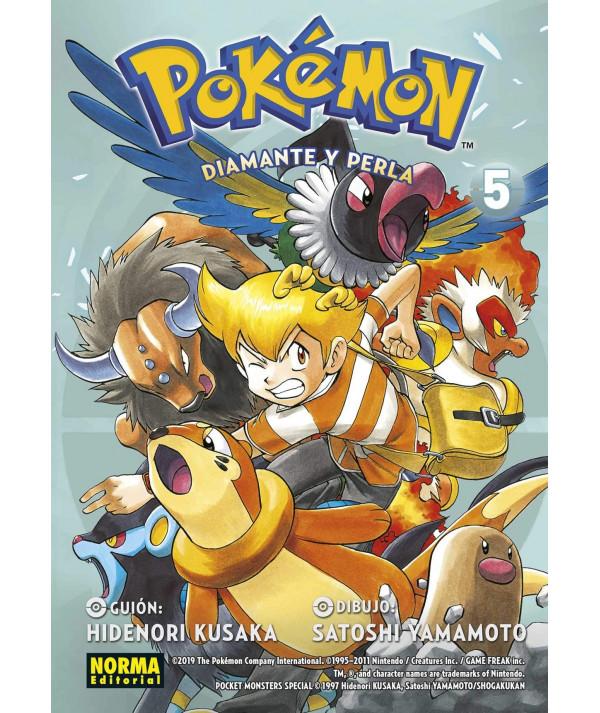 POKEMON. DIAMANTE Y PERLA 5 Comic y Manga