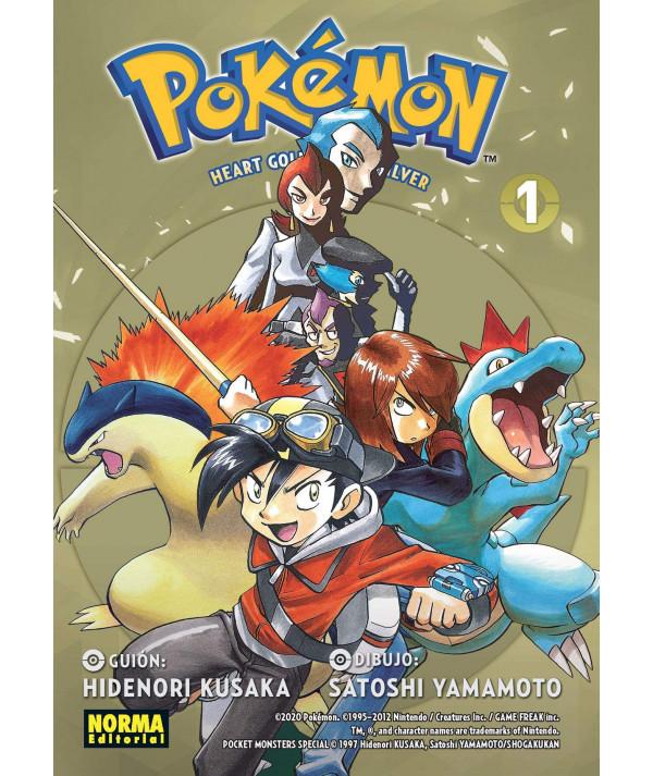 POKEMON. ORO HEARTGOLD Y PLATA SOULSILVER 01 Comic y Manga