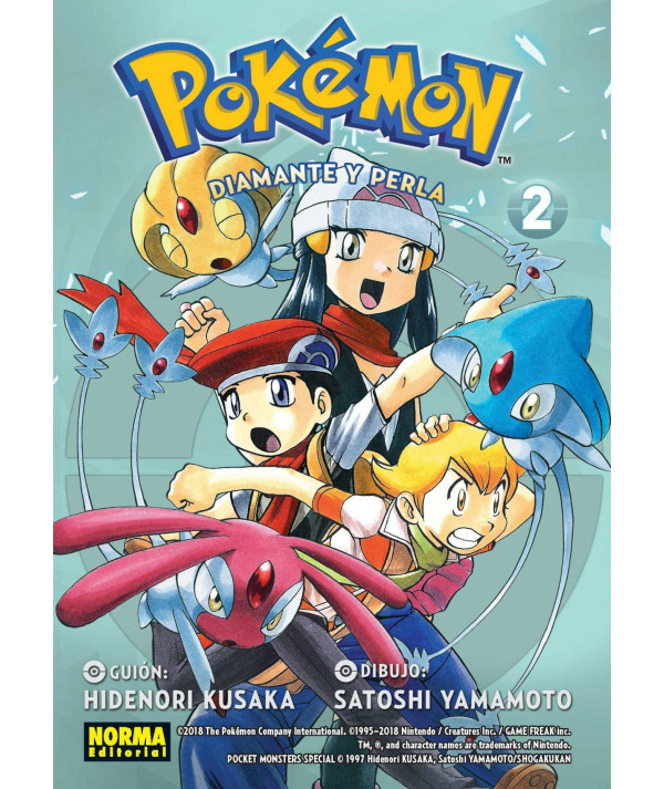 POKEMON. DIAMANTE Y PERLA 2 Comic y Manga