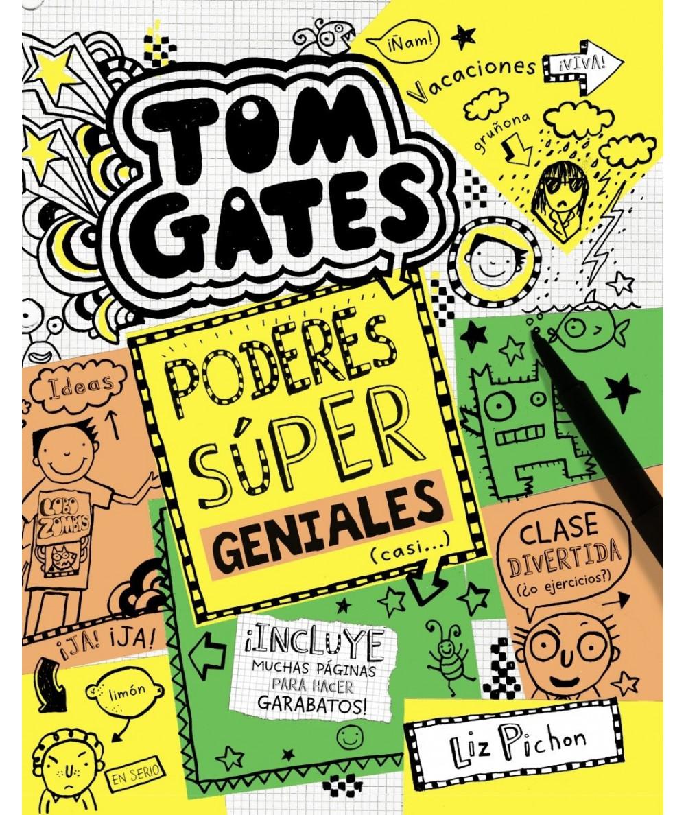 TOM GATES: PODERES SÚPER GENIALES (CASI...) Infantil