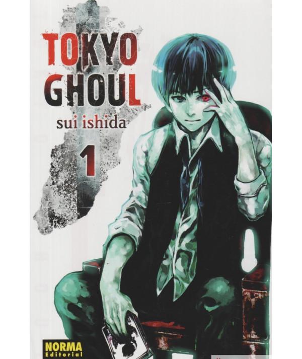 TOKYO GHOUL 1 Comic y Manga